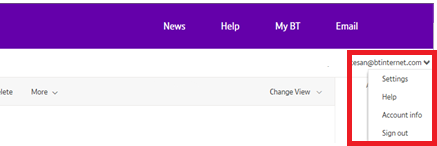 We've made changes to the layout of BT Mail | BT help