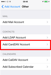 Setting up your calendar and syncing contacts in iOS | BT help