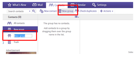 Using Contacts in BT Mail | BT help