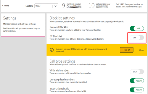 BT Call Protect - 'How to   ' guide | BT help