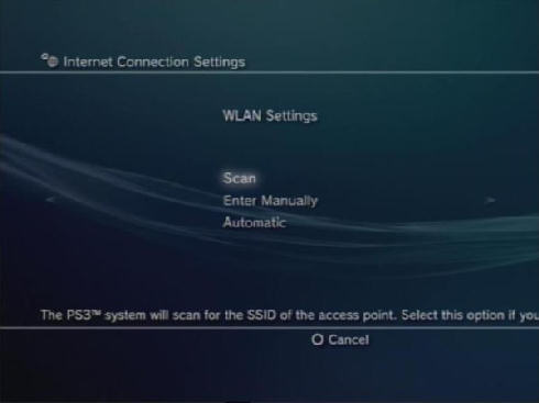 how do you connect ps3 to internet