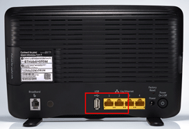 How do I connect my device to my BT Hub by Ethernet cable? | BT help