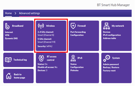 How do I change the wi-fi password on my BT Hub? | BT help