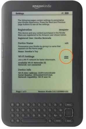 BT - How do I connect an Amazon Kindle to my BT Home Hub?