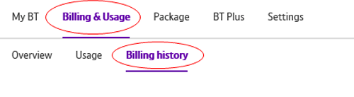 How can I view my bill online with a My BT account? | BT help