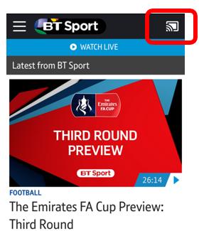 Can I stream BT Sport using Chromecast or Apple TV? | BT help