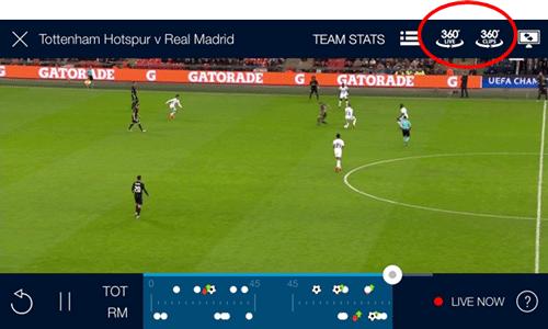 VR 360 (Virtual Reality) on the BT Sport App | BT help