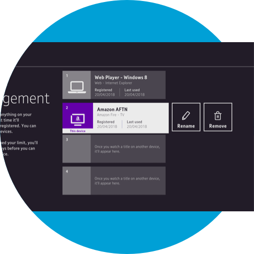 Managing your device on the BT TV App - Amazon Fire TV | BT help