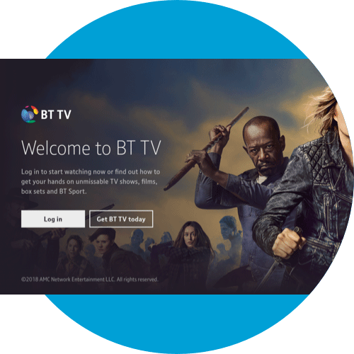 How to log in to the BT TV App - Samsung Smart TV | BT help