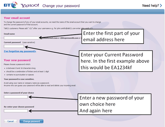 How to reset your password if your account's been barred