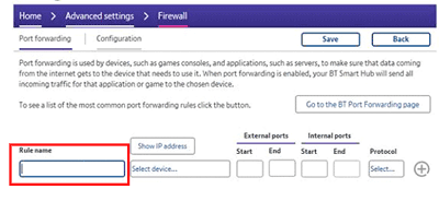 How do I set up port forwarding on my BT Hub? | BT help