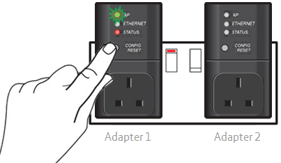 I have a problem with my black Powerline Adapters - how do I