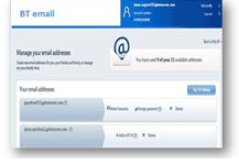 Changes to the way you manage your BT Yahoo Mail account